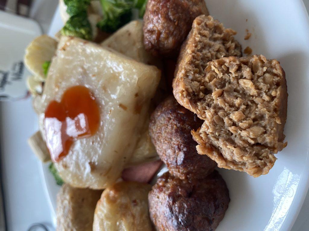 【蔬食宅配】蔬味平生二購 瑞典肉丸棒棒腿雞塊應有盡有,只要氣炸鍋一鍵就能輕鬆上菜
